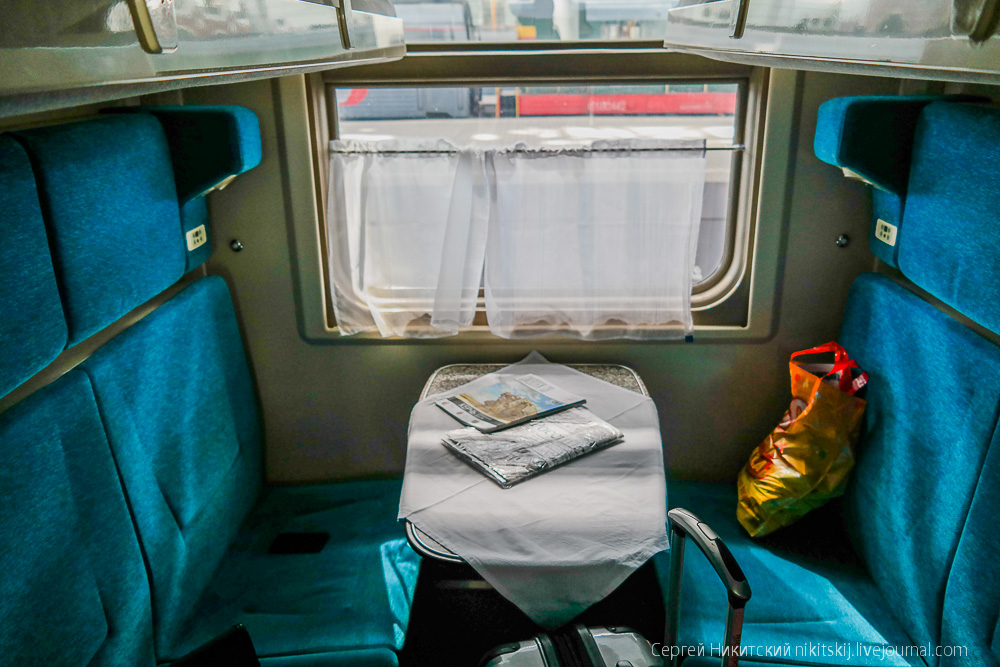 Из спб в крым на поезде